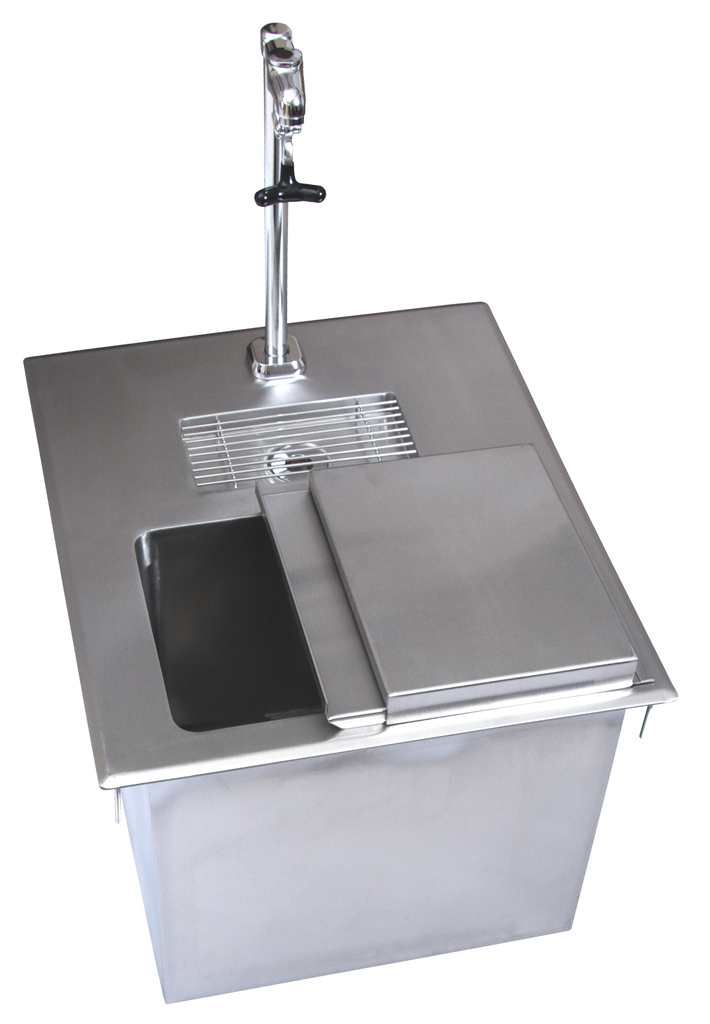 Dropin Ice Bin W Water Station W Lid Amp Faucet Bk Resources