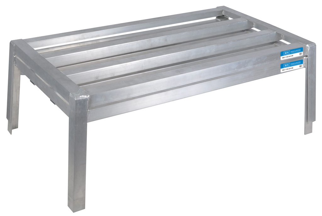 obsol STACKABLE ALUMINUM DUNNAGE RACK 36X24X12