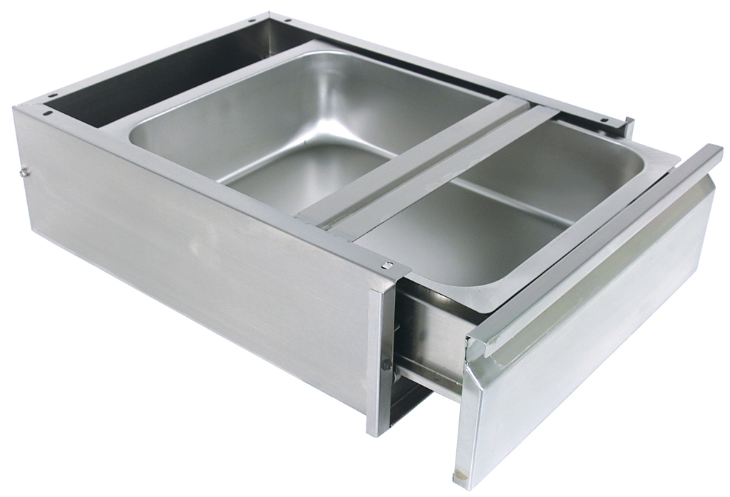 18 X 20 DRAWER ASSEMBLY SS PAN