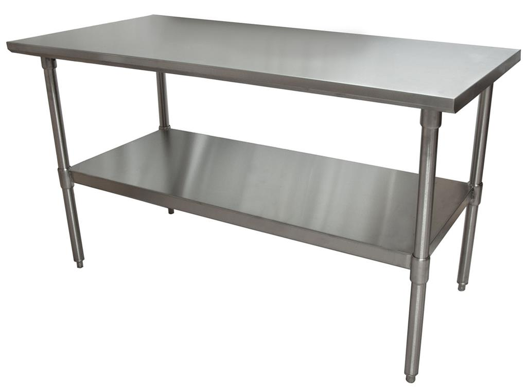 16 GA. T-304 60X36 TABLE GALV BASE