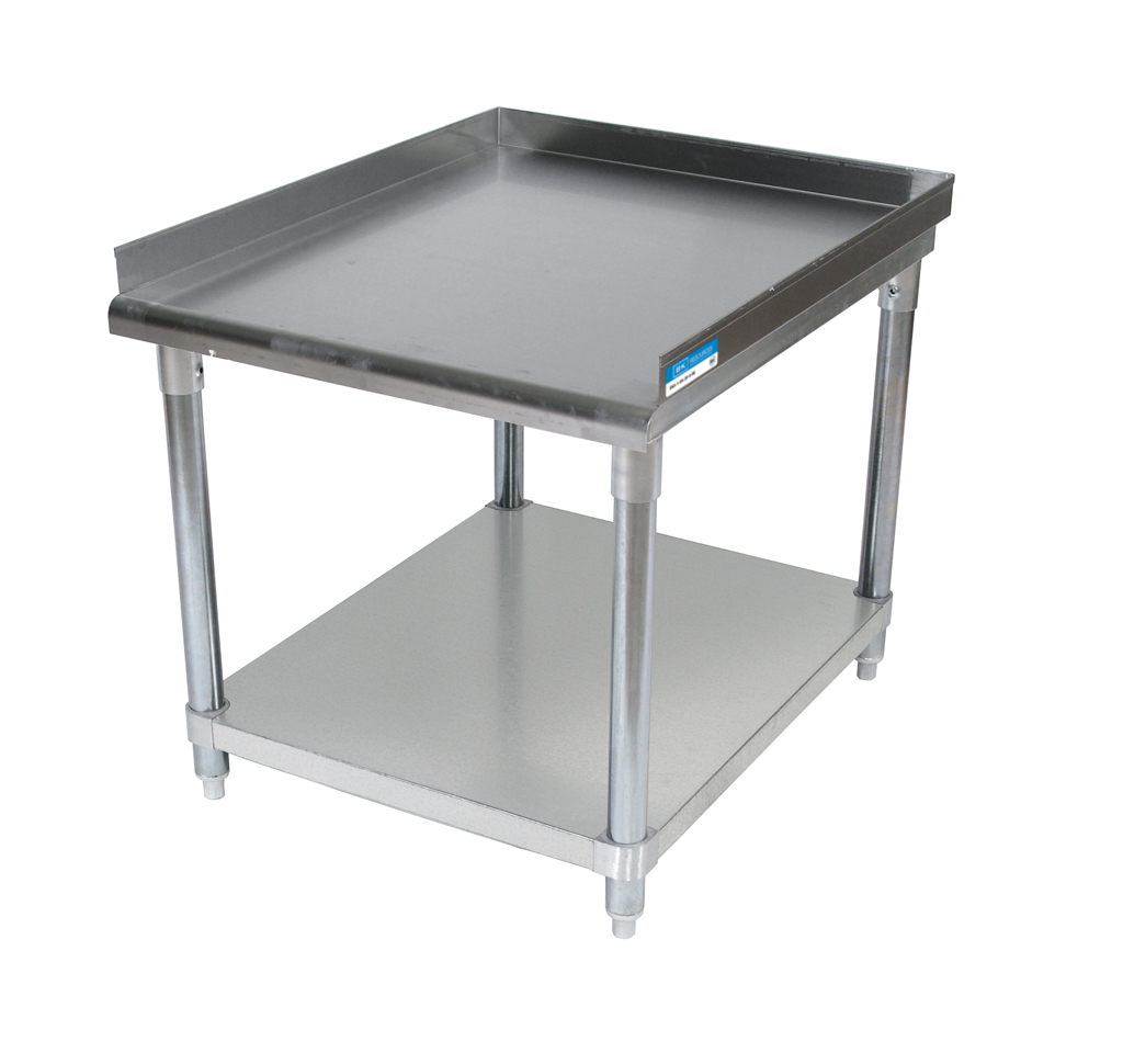 "60"" X 30"" STAINLESS EQUIPMENT STAND"