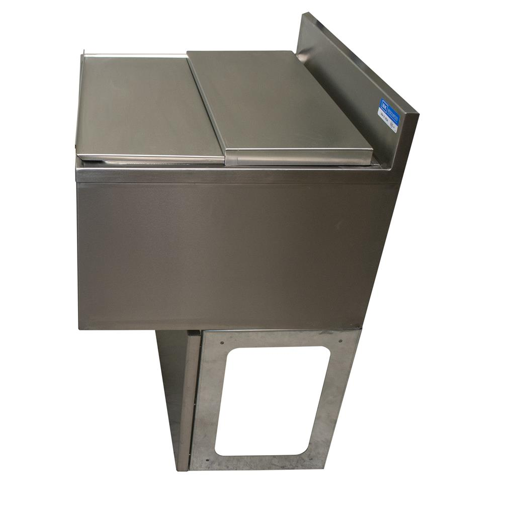 "48""X 18"" ICE BIN W/10C COLD PLATE SS INCLUDES BASE"