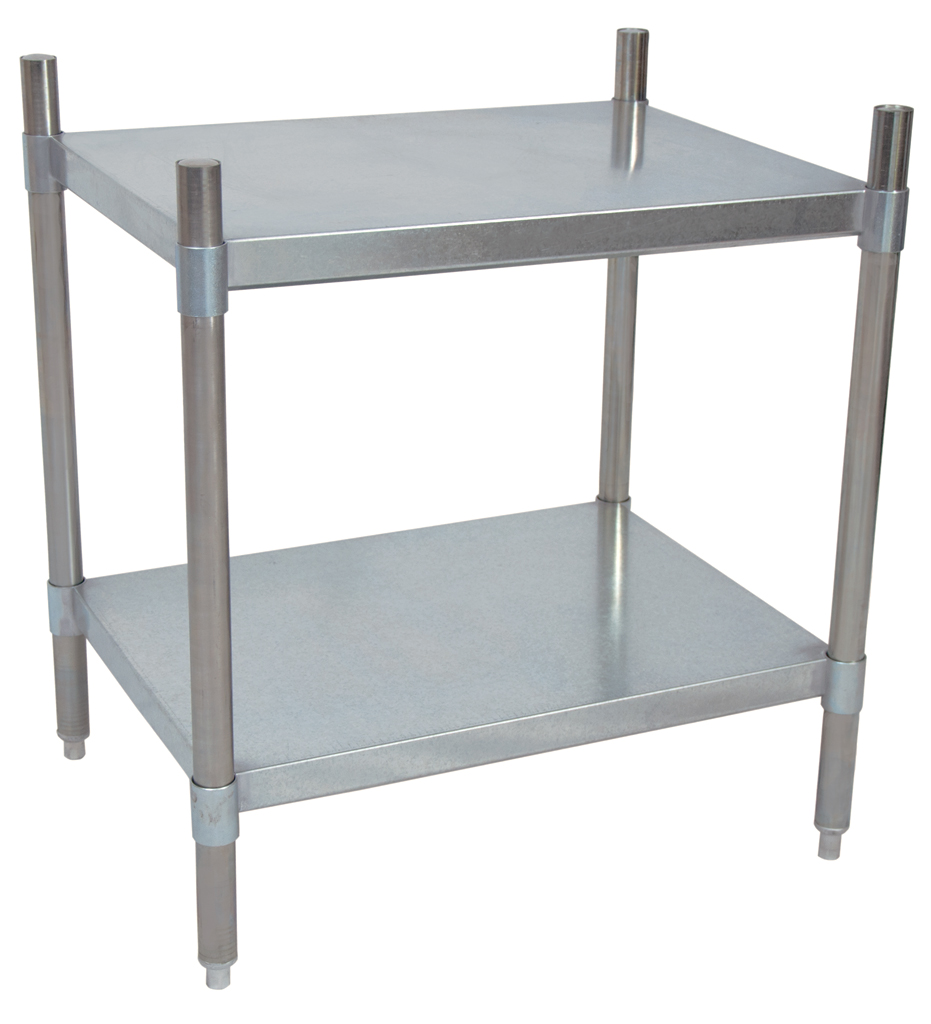 2 SHELF DRY STORAGE 55X24X38
