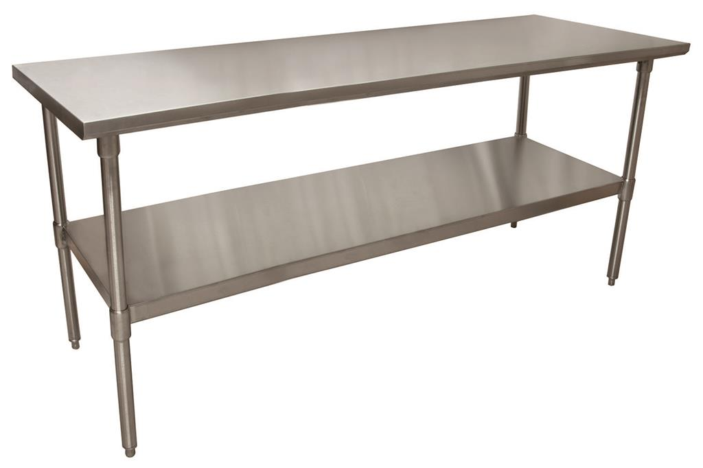 "72"" X 24"" T-430 18 GA SS TABLE TOP"