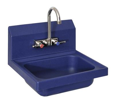 ION 2 HOLE SM BLUE ANTIMICROBIAL HANDSINK KIT