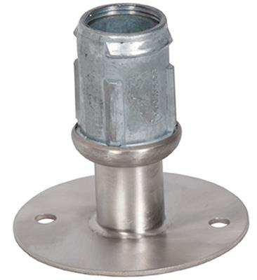 "1-5/8"" SS FLANGE FOOT WITH HOLES"