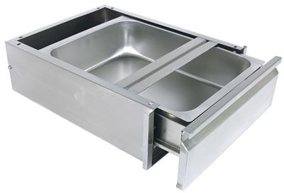 20 X 20 DRAWER ASSEMBLY SS PAN