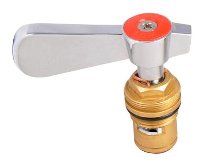 HOT WATER CERAMIC VALVE FOR HD FAUCETS W/ HANDLE