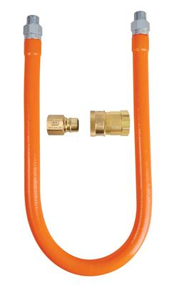 "1/2"" X 24"" GAS HOSE CONNECTOR AND"