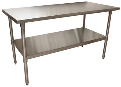 T 304 60X30 TABLE, GALV BASE