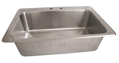 "18GA T-304 DROPIN SINK 28""X16""X10""D BOWL"