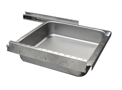 ECONOMY DRAWER ASSEMBLY 20X20 STAINLESS PAN