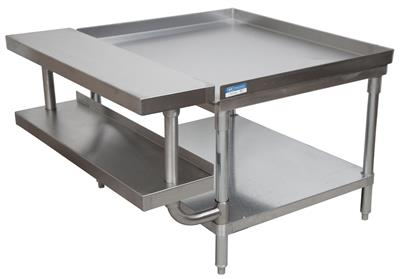 "72"" ADJUSTABLE PLATE SHELF FOR EQUIPMENT STAND"