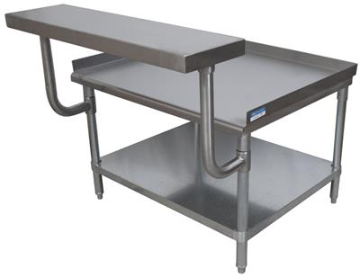 "18"" ADJUSTABLE WORK SHELF FOR EQUIPMENT STAND"