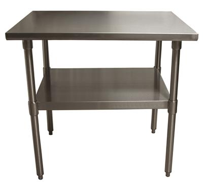 14 GA. T-304 36X24 TABLE SS BASE