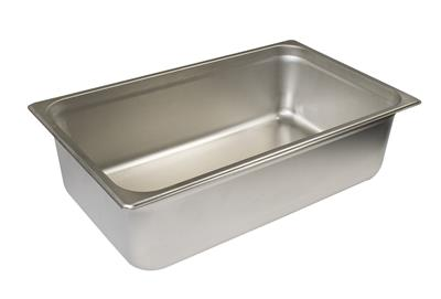 STAINLESS STEEL WATER PAN FULL SIZE - STEAM TABLE