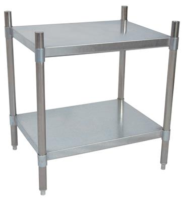 2 SHELF DRY STORAGE 43X24X38